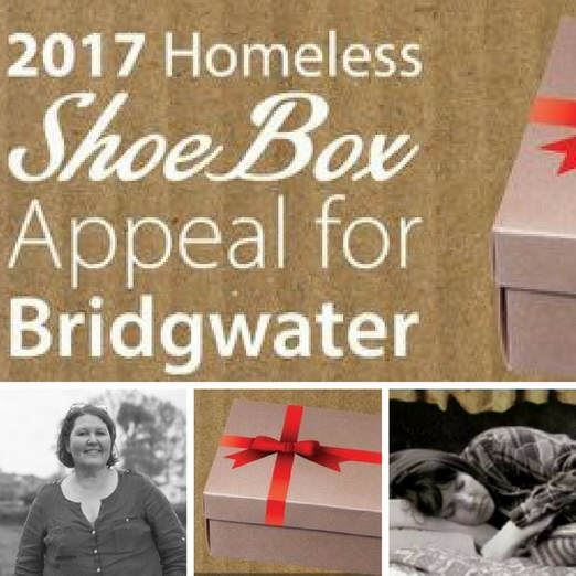 Homeless Shoe Box Collection at Owen Barry