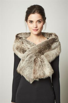 Long Sheepskin Toscana Scarf - Harrogate