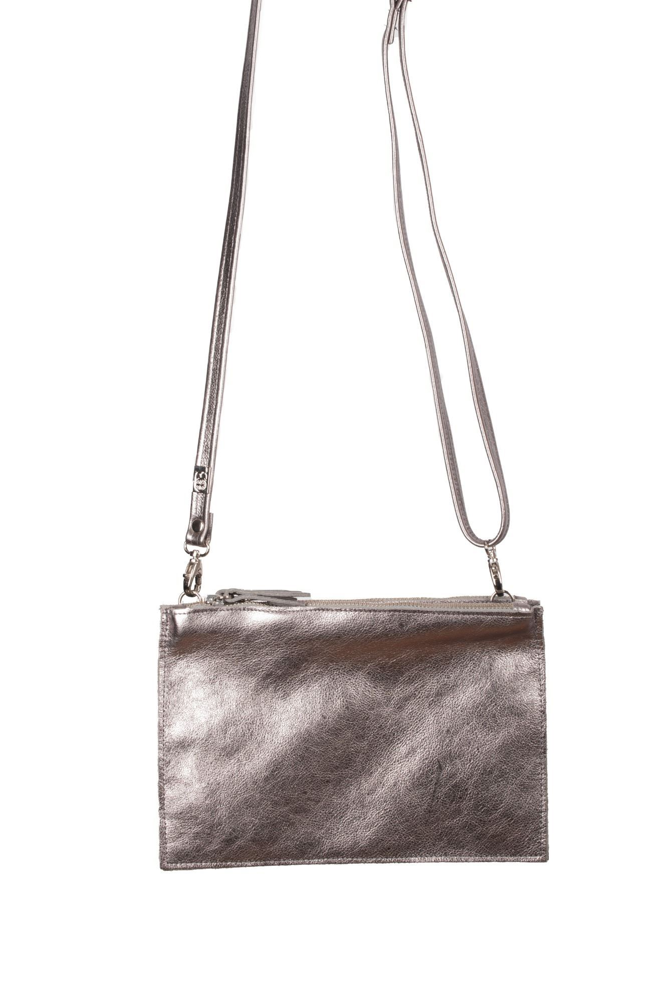 Leather Crossbody/Clutch Bag Tin - Thermus