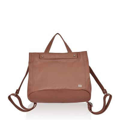 Leather Backpack/Shoulder Bag Hippo - Collins
