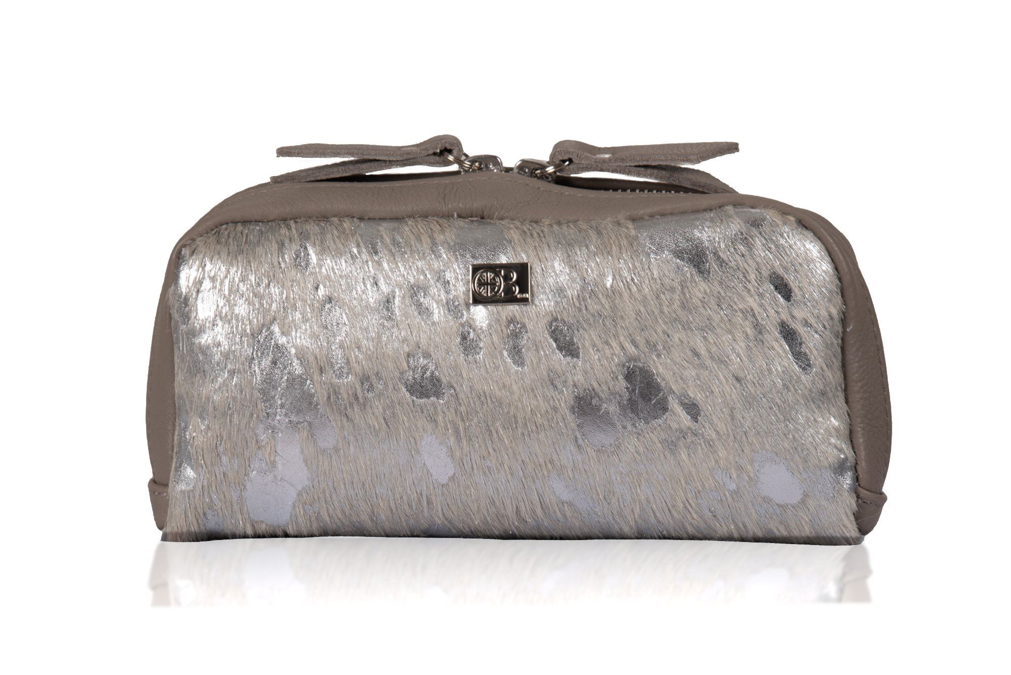 Cowhide Cosmetics Pouch - Yves