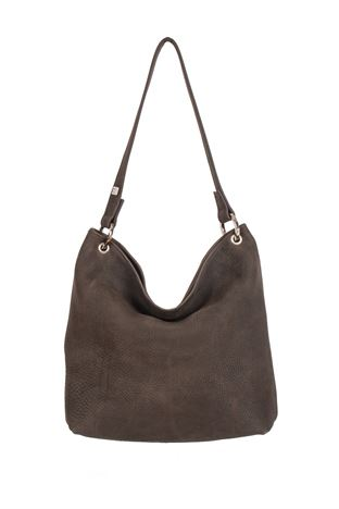 Leather Shoulder Bag - Hesta
