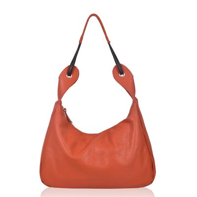 Leather Shoulder Bag Firebird - Shelly