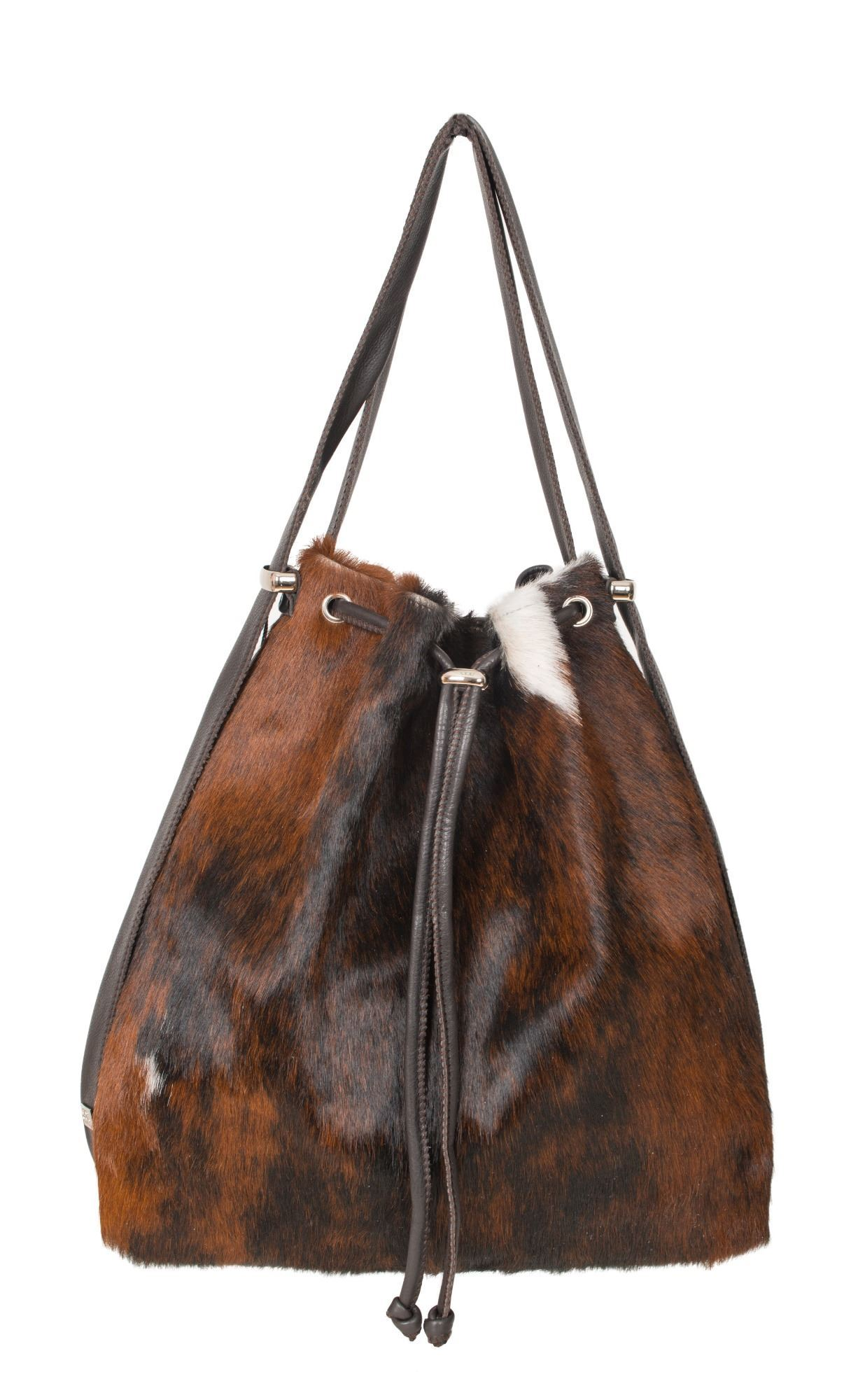 Cowhide Backpack/Shoulder Bag - Mathilde