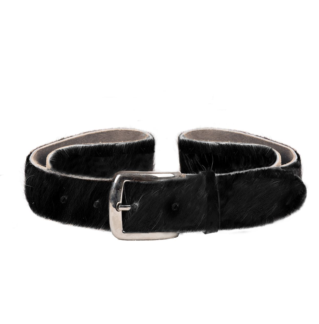 Cowhide Belt Nero MED