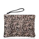 Cowhide Clutch Purse - Bambi
