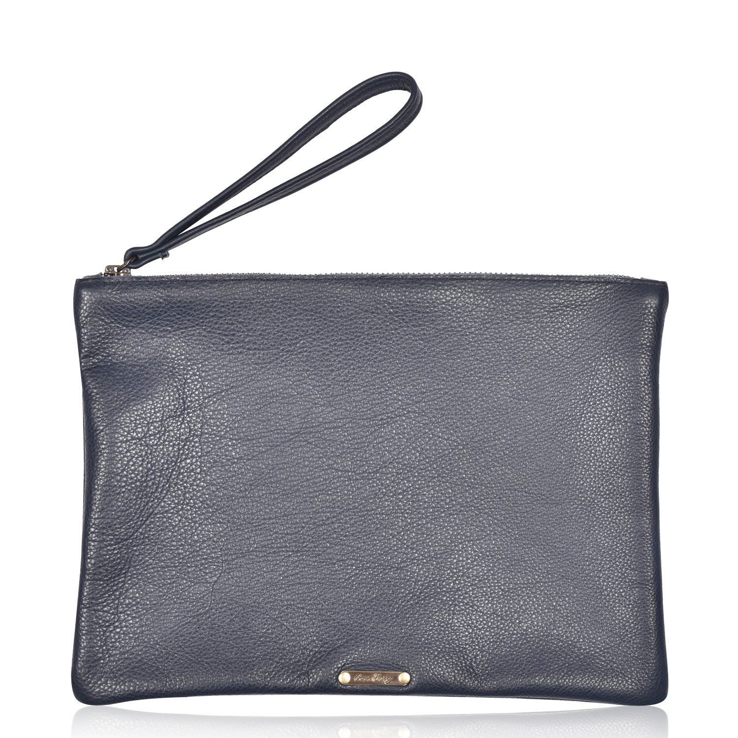 Leather Clutch Purse - Bambi