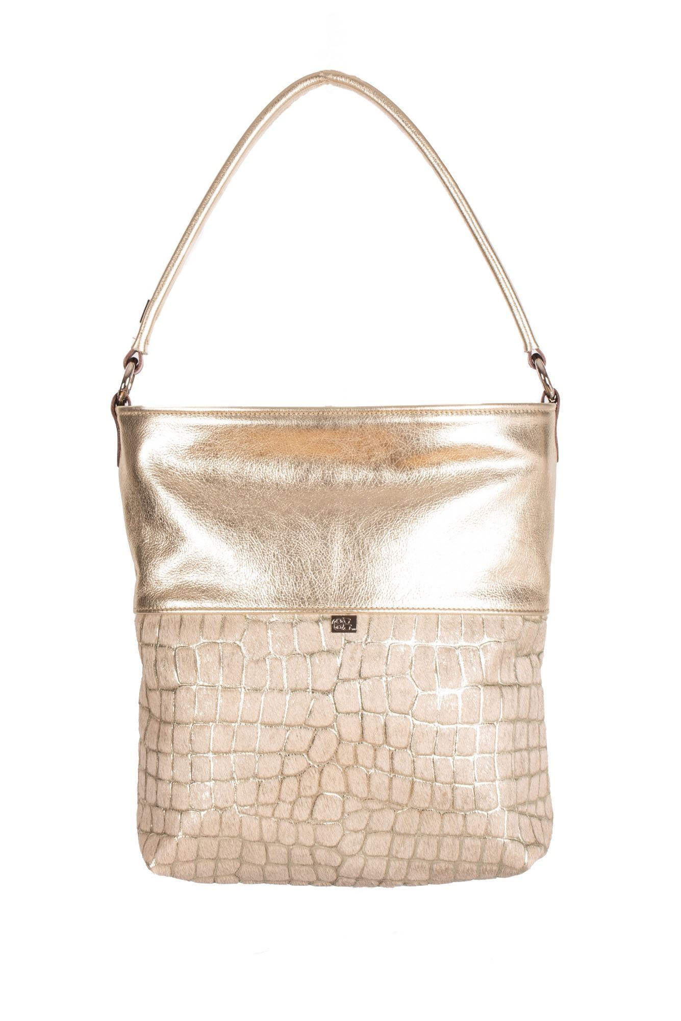 Cowhide Shoulder Bag - Blake