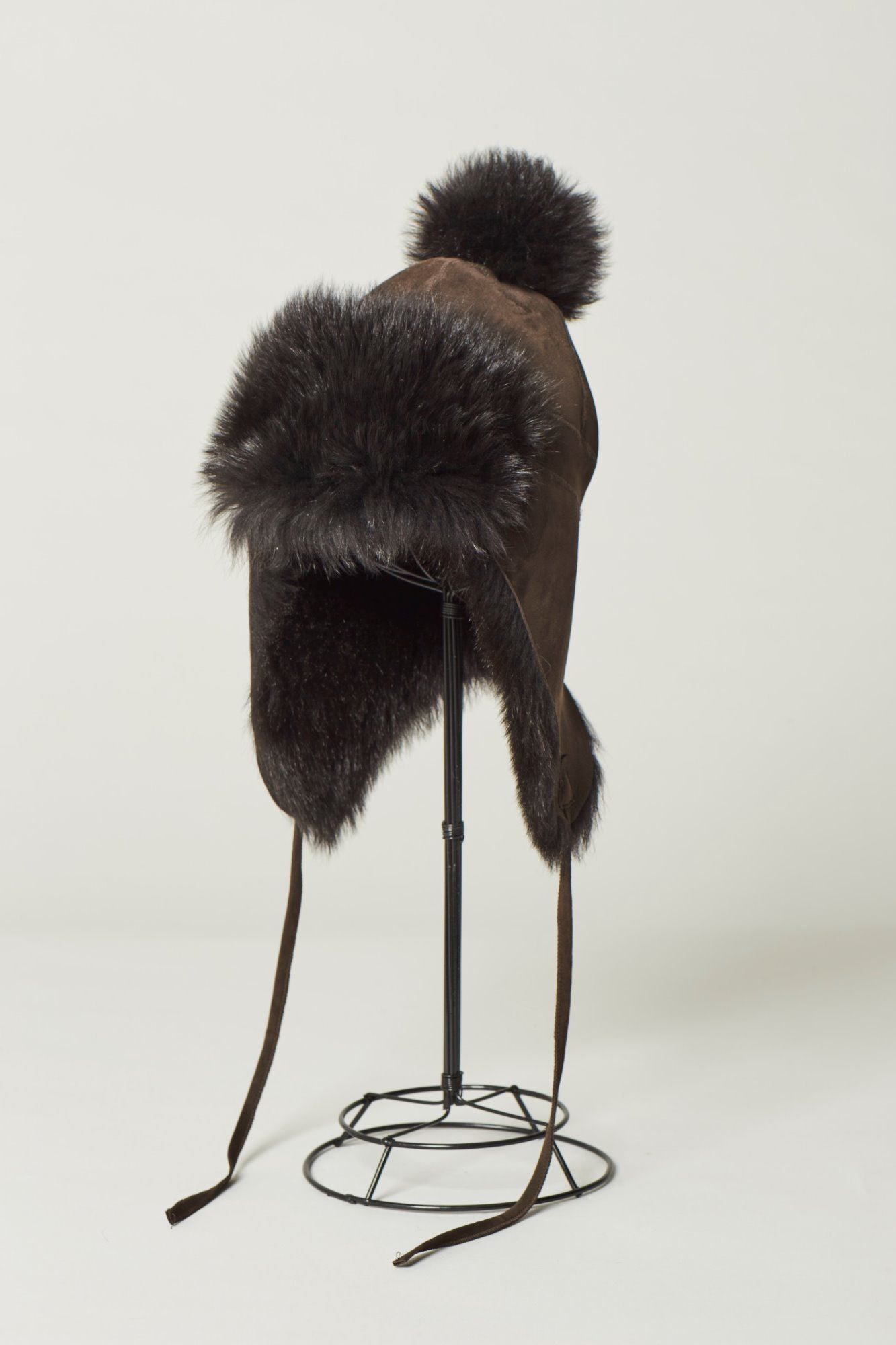 Sheepskin Toscana Trapper Hat With Pom - Aggy
