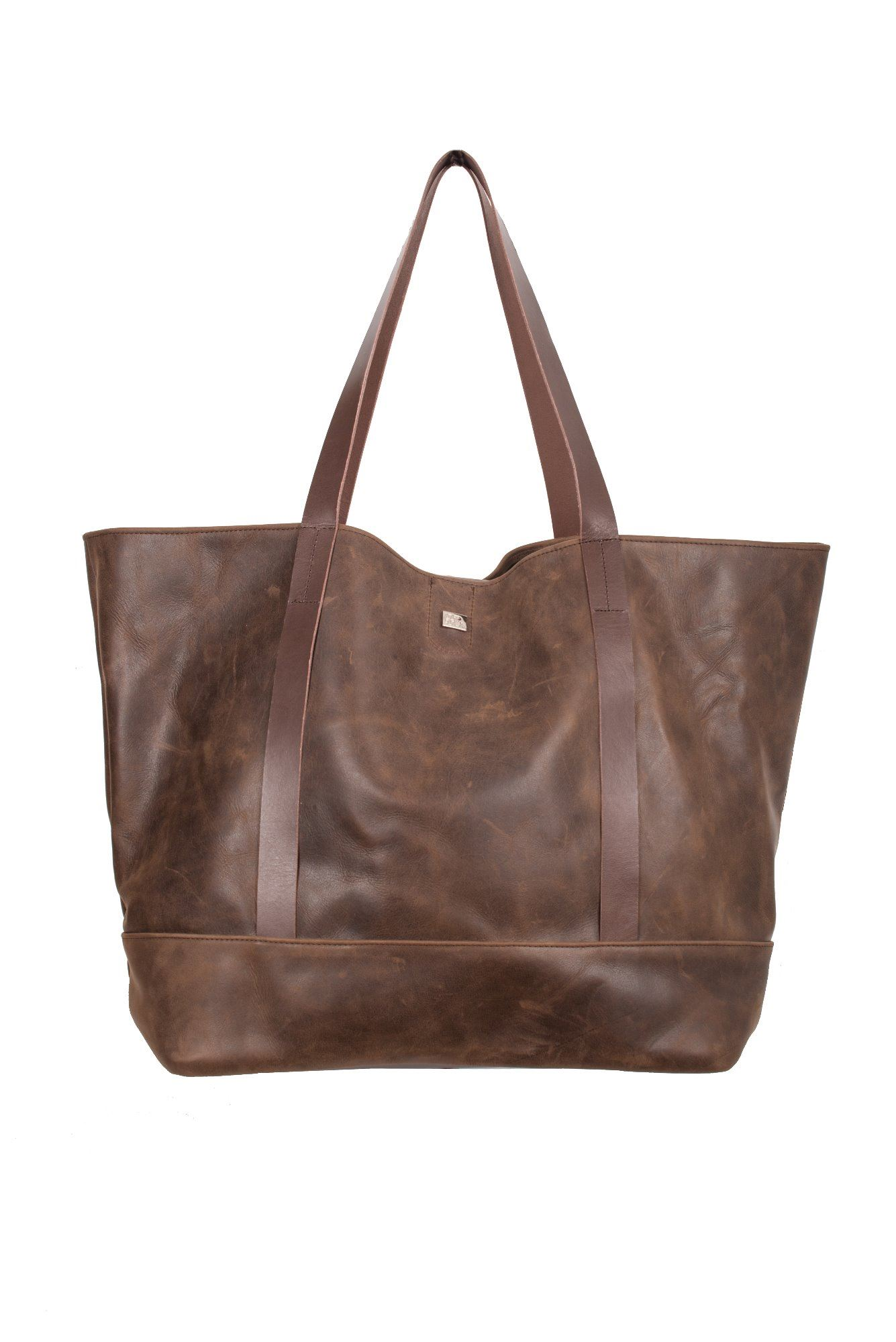 Leather Oversize Tote - Seren