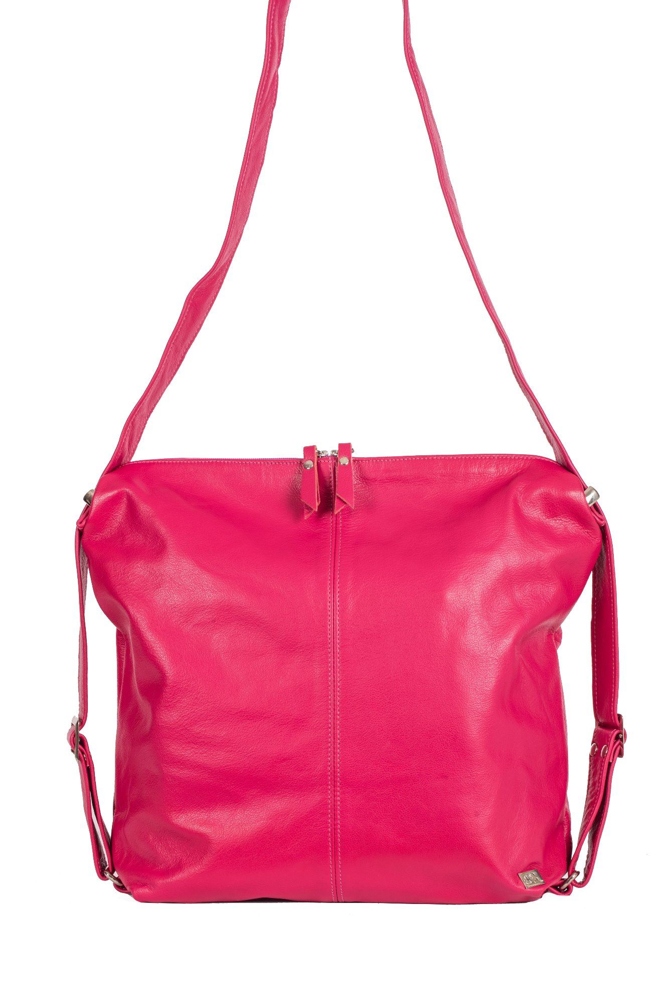 Leather Backpack/Crossbody Bag  - Indie