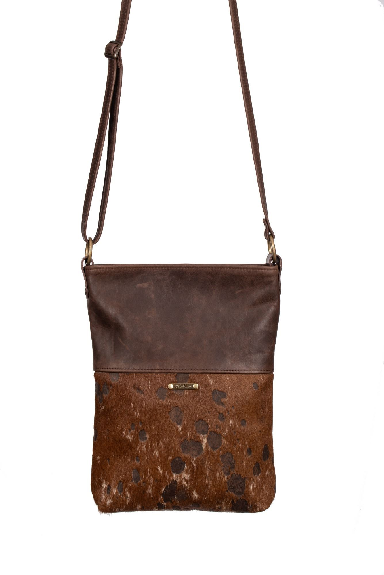 Cowhide Crossbody Bag 70th Collection - Ronson