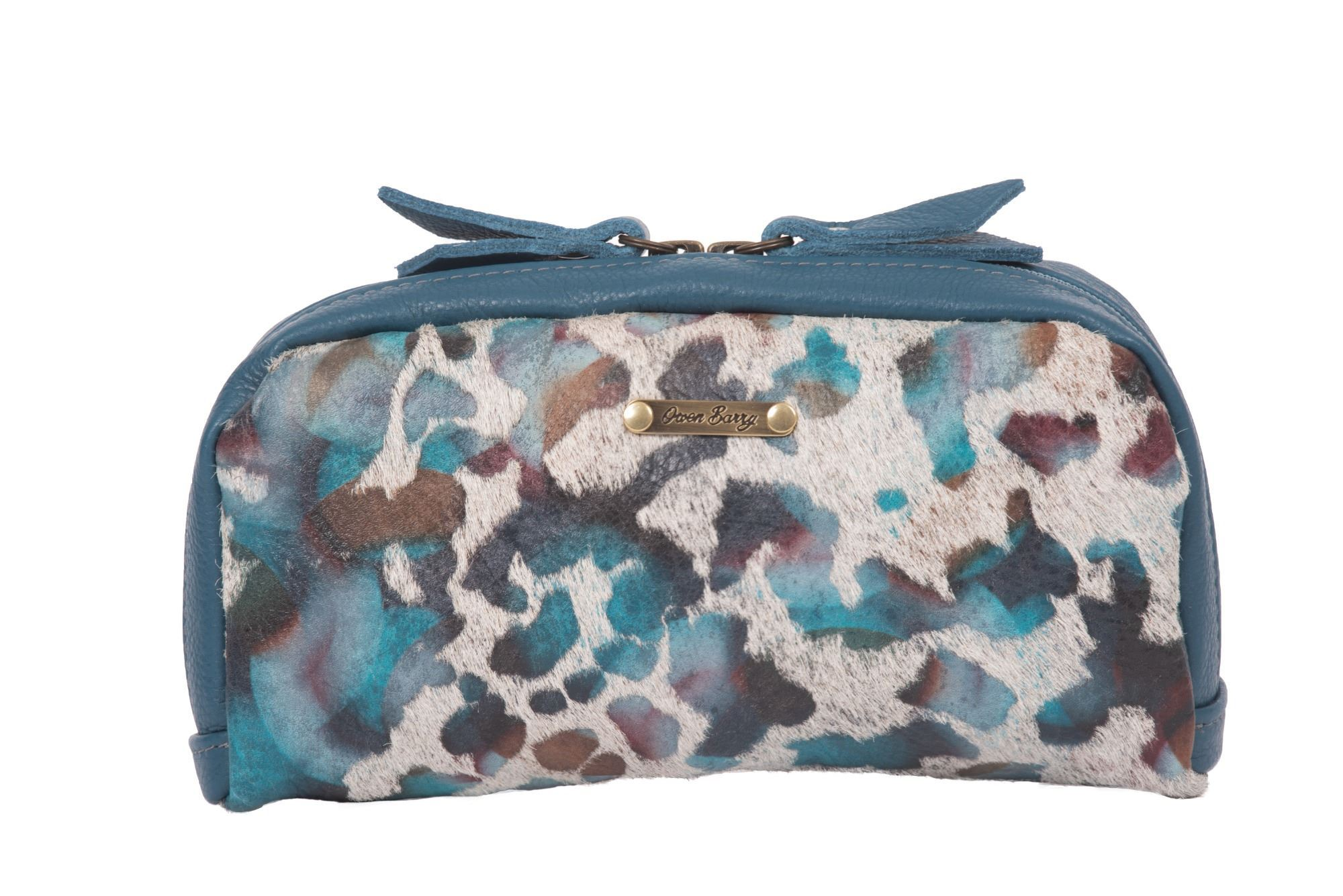 Cowhide Cosmetics Pouch 70th Collection - Yves