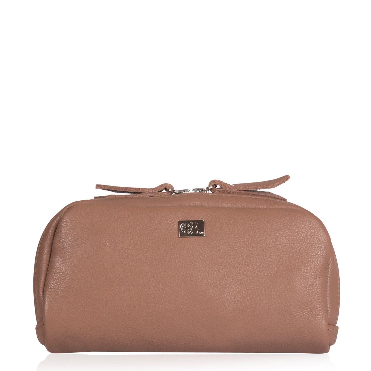 Leather Cosmetics Pouch - Yves