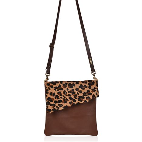 Cowhide Crossbody Bags - Large Francine