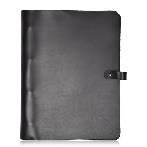 Leather A4 Ring Binder Folder