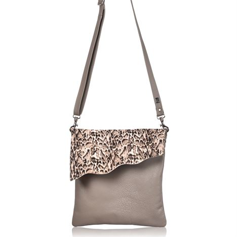 Cowhide Crossbody Bag - Stevie