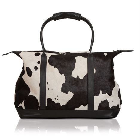 Cowhide Weekend Holdall - Workshop