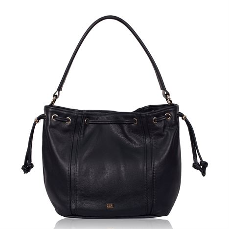 Leather Shoulder Bag - Joshua