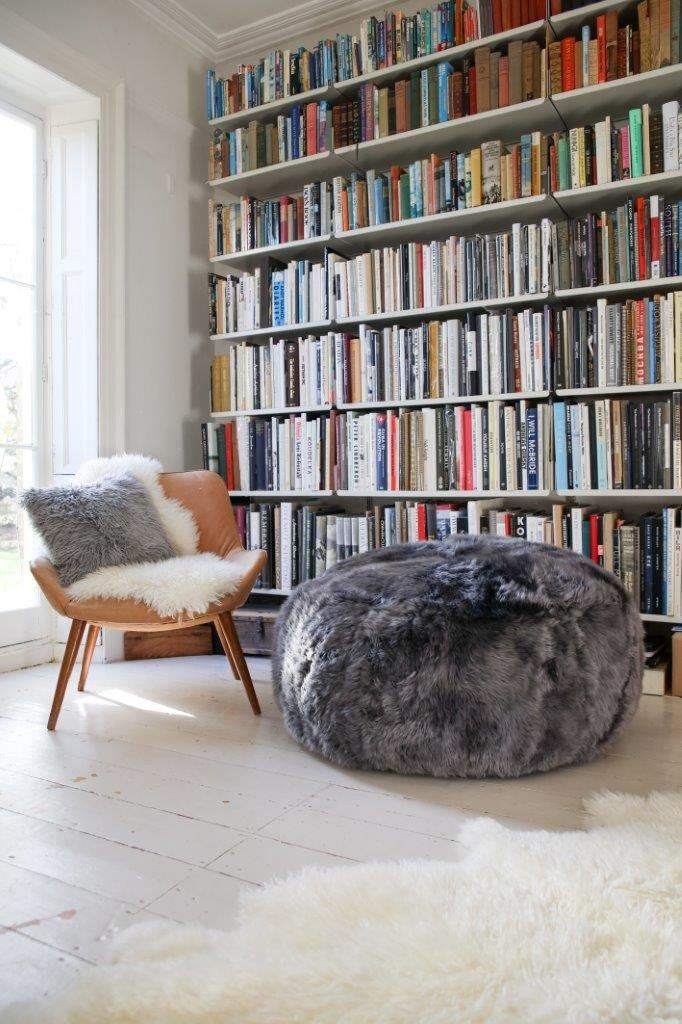Large Sheepskin Drum Luxe - Lowland