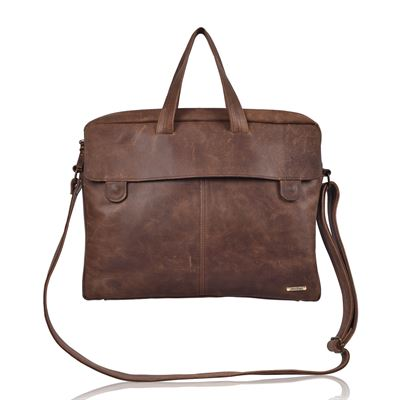 Leather Business Bag - Ranulph