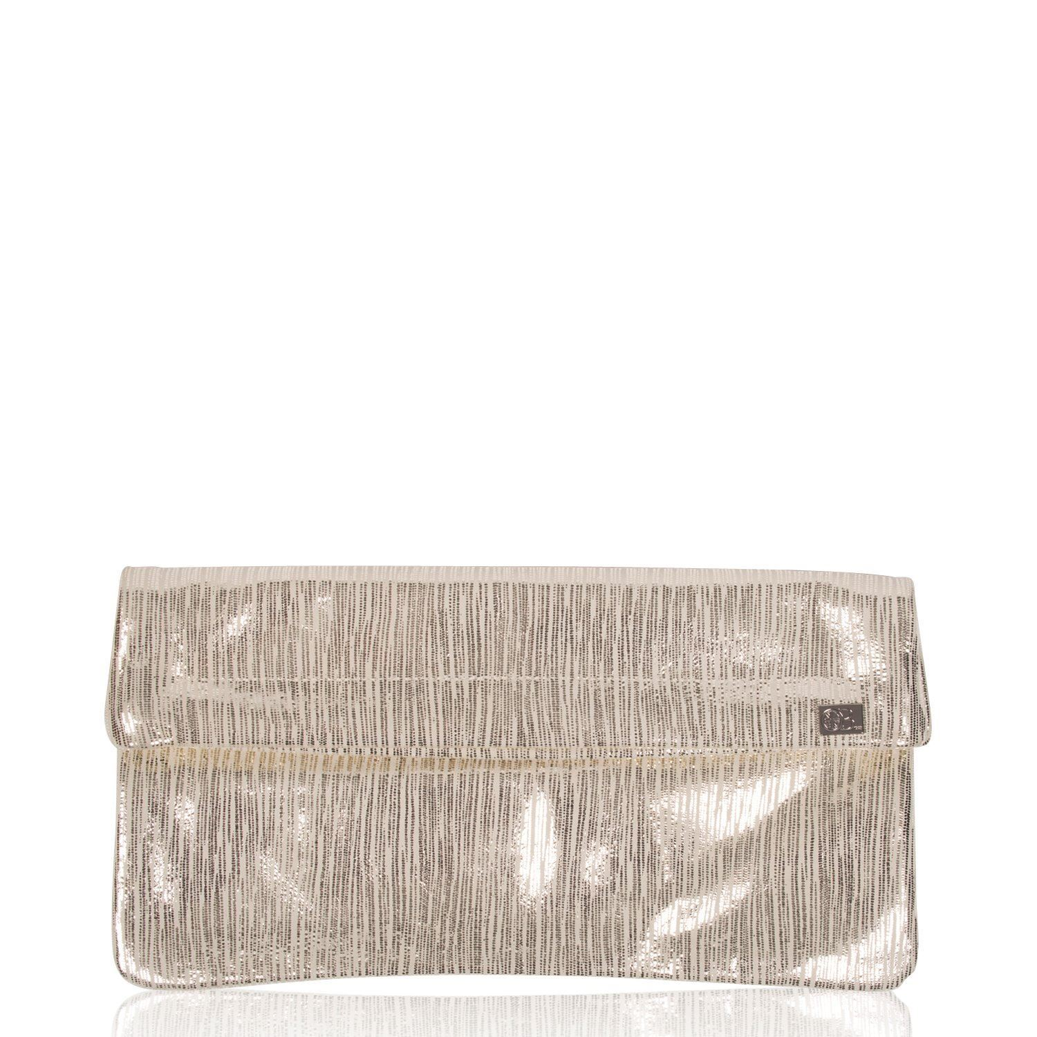 Leather Clutch Bag - Kings