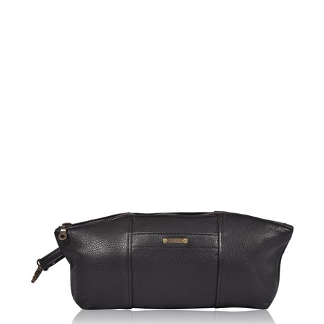 Leather Essentials Bag - Pugwash Black