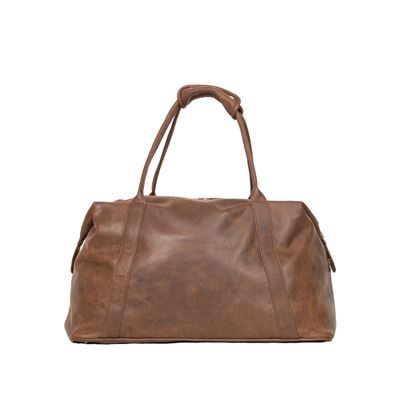 Leather Weekend Holdall Iroko - Workshop