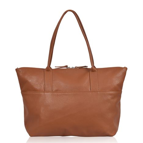 Leather Tote/Crossbody Bag - Fibbel
