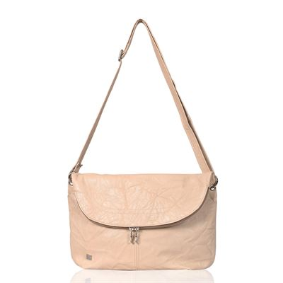 Leather Crossbody/Shoulder Bag Cream - Pippa