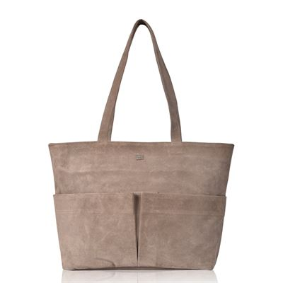 Suede Tote/Shoulder Bag Tornado - Finley