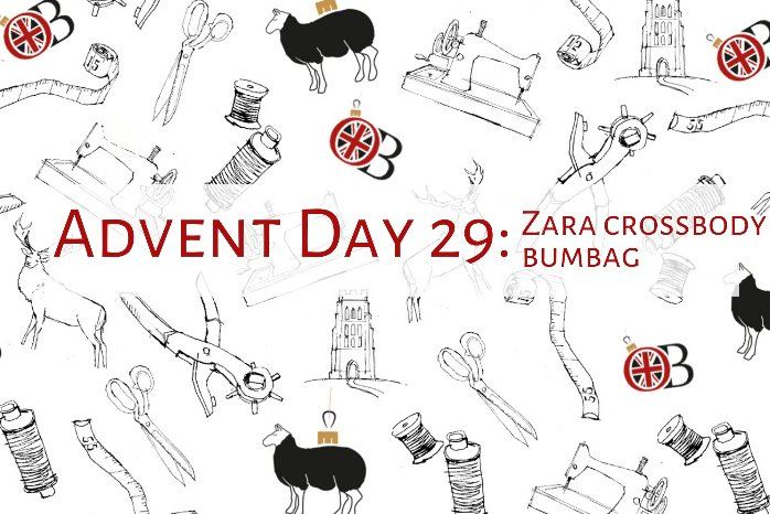 Advent Day 29 Zara Crossbody Bumbag