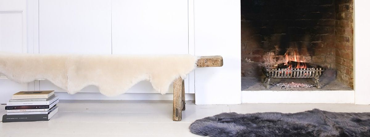 Sheepskin Throws For Beds Sofas Chairs