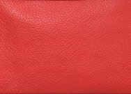 Leather Clutch Purse Chilli Red - Bambi
