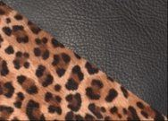 Large Cowhide Purse Mini Leopard - Vermont