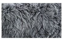 Sheepskin Cushion 40x40cm Yetti Pewter