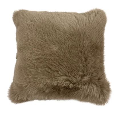 Sheepskin Cushion 50x50cm - Luxe