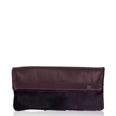 Cowhide Clutch Bag - Kings