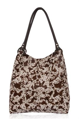 Cowhide Shoulder Bag - Dudley