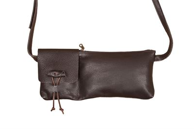 Leather Crossbody/Bum Bag - Friar