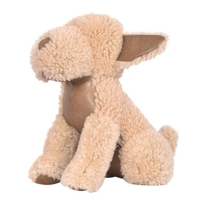 Sheepskin Dog Doorstop