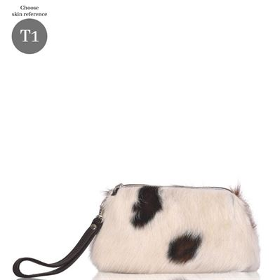 Cowhide Unique Clutch/Handbag Tidy - Tigres