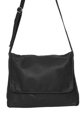 Leather Messenger Crossbody Bag  Alex