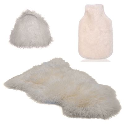 Christmas Combo Deal Sheepskin - Ivory