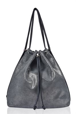 Leather Backpack/Shoulder Bag - Mathilde