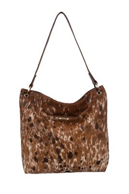 Cowhide Shoulder Bag - Hesta