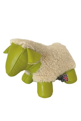 Sheepskin Sheep Doorstop
