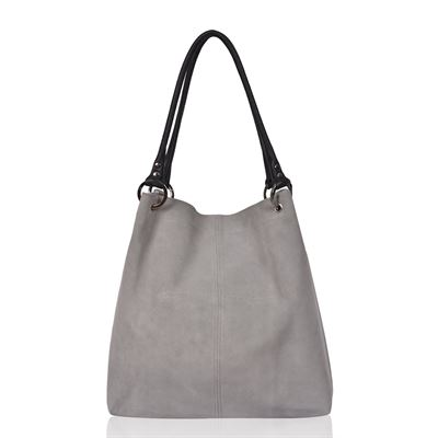 Suede Shoulder Bag - Dudley