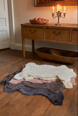 UK Curly Sheepskin Rug - Single
