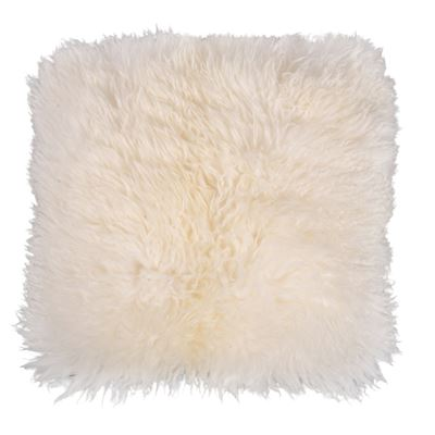 Sheepskin Cushion 40x40cm Luxe